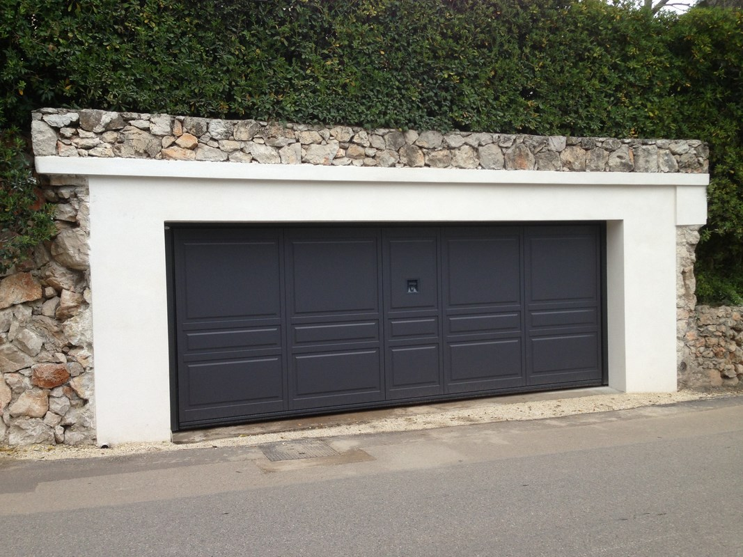 porte garage grande largeur
