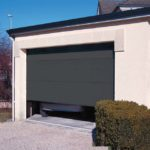 Porte garage gris anthracite