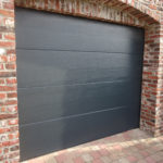 Woodgrain porte garage